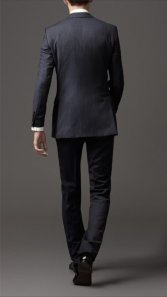 well fitted suit backside