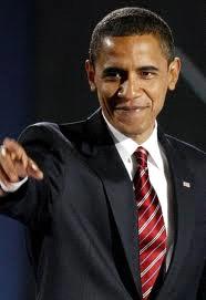 Barack Obama dressing