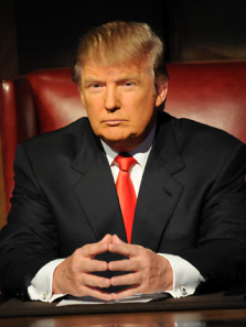 Donald Trump Red Tie