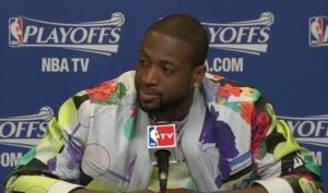 Dwayne Wade Floral Jacket
