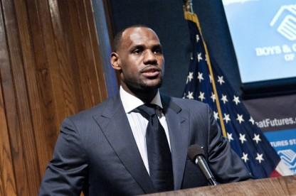 LeBron James Suit