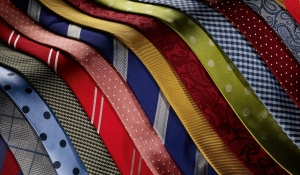 Silk ties exhibiting some of the qualities listed above