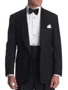 tuxedo with cummerband