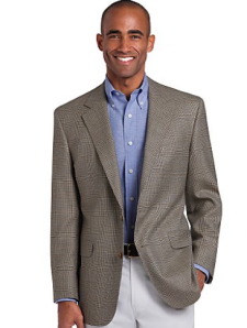 An appropriate, clean look for a business casual event