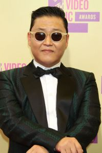 Close Gangham Style: Or you could pull off what Psy did here and opt for a Green Tuxedo.  I think not!
