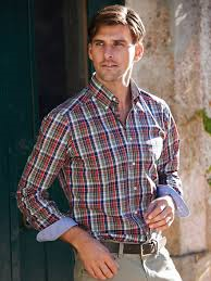 A button down collar shirt is great for casual wear!