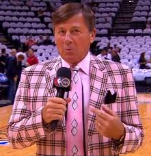 Craig Sager, as always, showing us what it really means to be a MAN! Sweeeetness!